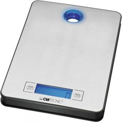 Clatronic KW 3412 Kitchen Scales, up to 5 kg, Inox