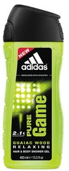 Dušas želeja Adidas Pure Game 400 ml