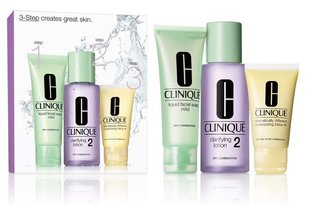 Komplekts Clinique 3 Step Skin Care System 2