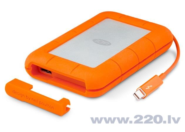 LaCie Rugged 250GB USB3.0 цена и информация | HDD - ārējie | 220.lv
