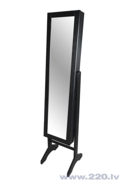 Зеркало, черное цена и информация | Spoguļi | 220.lv