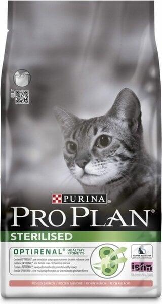Sausa barība kaķiem Pro plan sterilised cat salmon 10 kg cena un informācija | Sausā barība kaķiem | 220.lv
