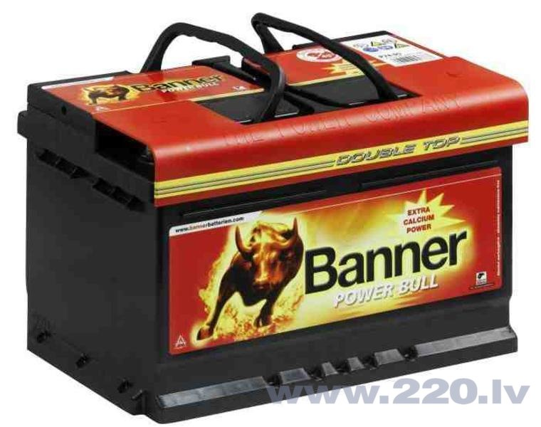 BANNER Power Bull 74Ah 680A цена и информация | Akumulatori | 220.lv