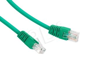 Gembird PP12-0.25M/G Green patch cord cat. 5E molded strain