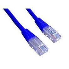 Gembird PP12-0.5M/B Tīkla kabelis (zils) 0.5 m