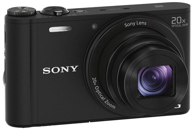 Sony DSC-WX350, melns cena