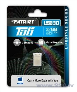 Patriot USB Drive 32GB TAB USB 3.0 Speed-140MBS