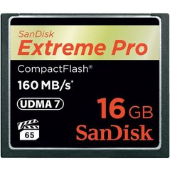 SanDisk Extreme Pro CompactFlash 16GB 160MB/s