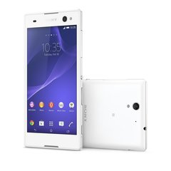 Sony D2502 Xperia C3 Dual white (Balts)