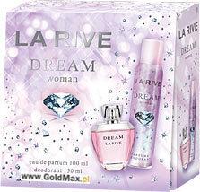Komplekts La Rive Dream: edp 100 ml + dezodorants 150 ml cena un informācija | Sieviešu smaržas | 220.lv