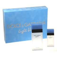 Komplekts Dolce & Gabbana Light Blue: edt 100 ml + edt 25 ml