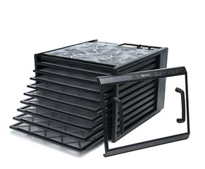 Excalibur Food dehydrator, 9 trays, Timer, Clear door, Black