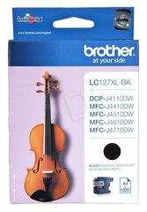 Brother LC127XL, melns cena un informācija | Brother LC127XL, melns | 220.lv