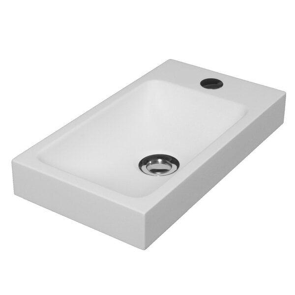 Izlietne Solo Ida 400P/L, konglomerāta cena un informācija | Keramiskās un stikla izlietnes | 220.lv