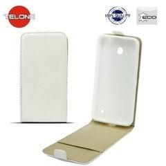 Telone Shine Pocket Slim Flip vertikāli atverams maks telefonam Sony D6603 Xperia Z3, Balts cena un informācija | Telone Shine Pocket Slim Flip vertikāli atverams maks telefonam Sony D6603 Xperia Z3, Balts | 220.lv