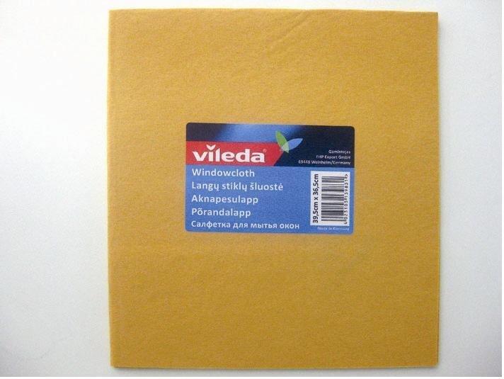 Logu tīrāmā lupatiņa VILEDA cena un informācija | Tīrīšanas piederumi | 220.lv