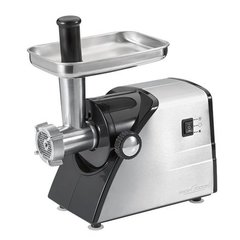ProfiCook PC-FW 1060 Professional mincer, 1000W, Stainless steel housing, 3 steel mincing disks