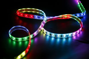 14.4 W / m LED lente 5050, 60 LED / m, RGB