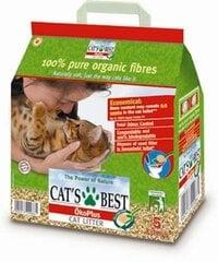 AKCIJA! Pakaiši dzīvniekiem Cats Best Oko Plus, 10 l + 2 l DĀVANA cena un informācija | Smiltis un pakaiši | 220.lv