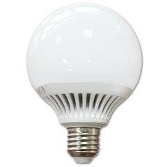 10W E27 G95 LED лампочка(Светлый цвет: 2700K)