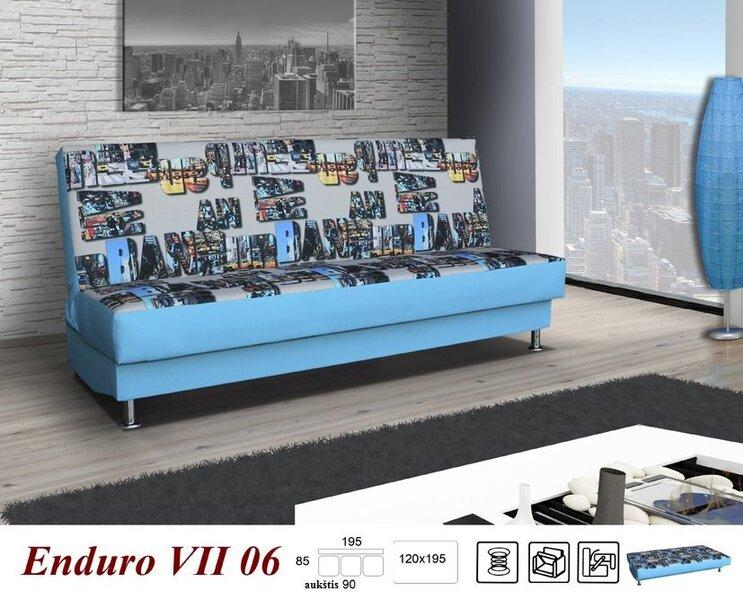 Диван Enduro VII цена и информация | Dīvāni un krēsli | 220.lv