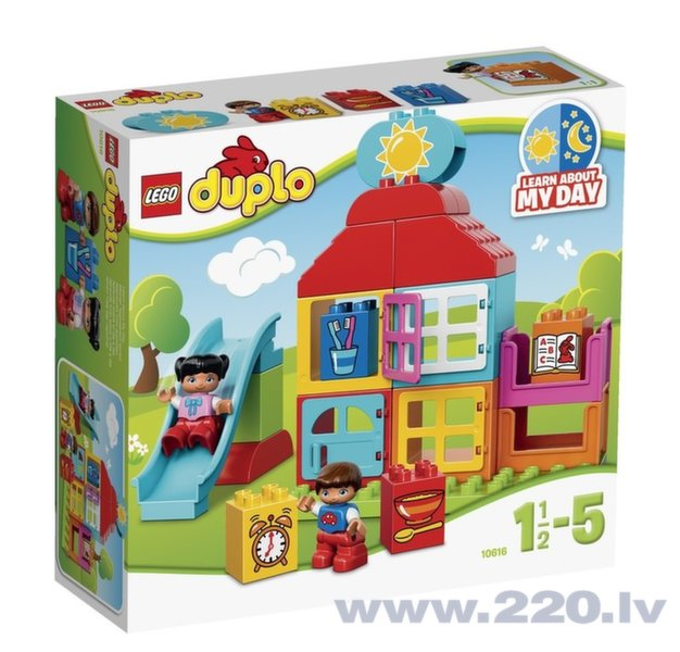 Конструктор Lego Duplo My First Playhouse V29 10616 цена и информация | LEGO | 220.lv