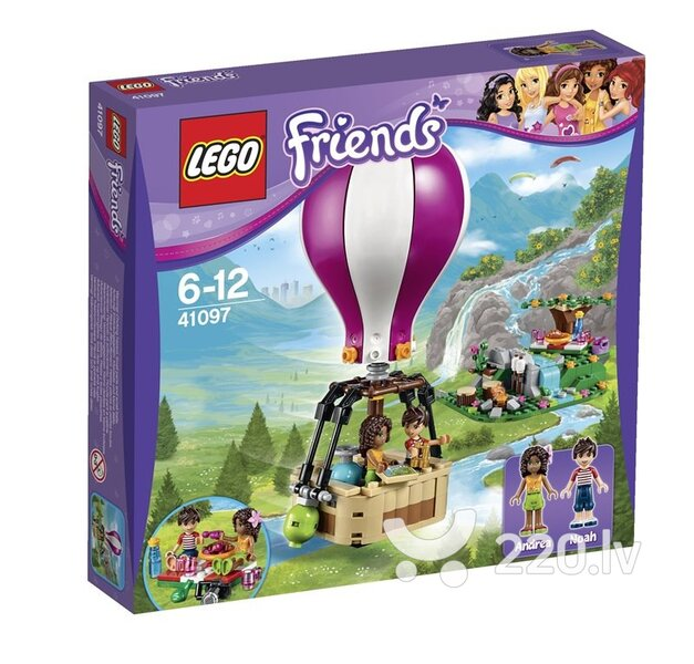 Конструктор Lego Friends Heartlake Hot Air Balloo 41097 цена и информация | LEGO | 220.lv
