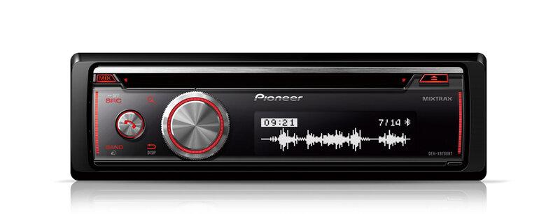 Pioneer DEH-X8700BT + Pioneer USB память в подарок  цена и информация | Auto magnetolas | 220.lv