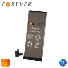 Forever аккумулятор для Apple iPhone 4 Li-Ion 1650 mAh HQ 616-0521 цена и информация | Forever аккумулятор для Apple iPhone 4 Li-Ion 1650 mAh HQ 616-0521 | 220.lv