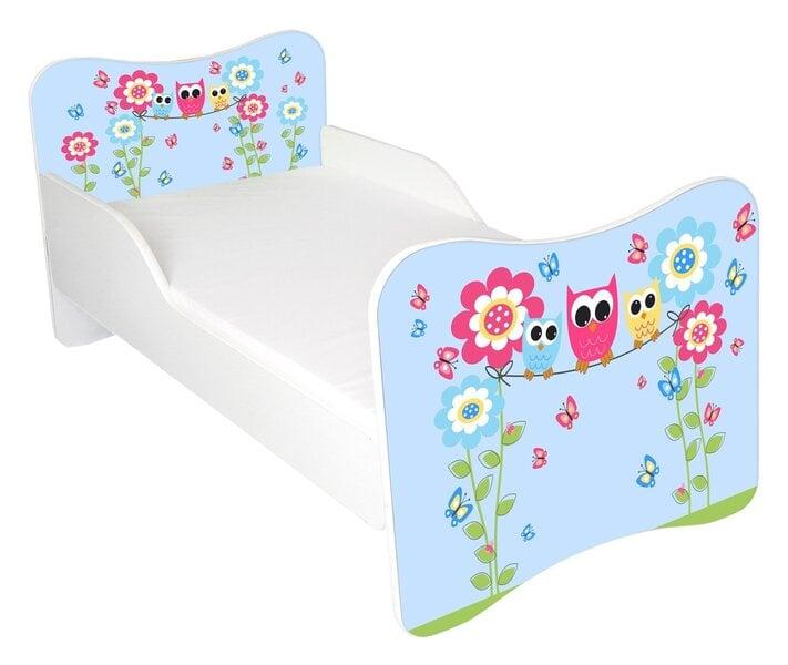 Кровать с матрасом AMI 10, 140x70 см цена и информация | Bērnu istabas mēbeles | 220.lv