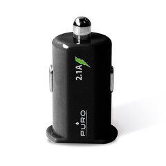 Auto lādētājs Puro MCH2USBBLK 2 USB, melns