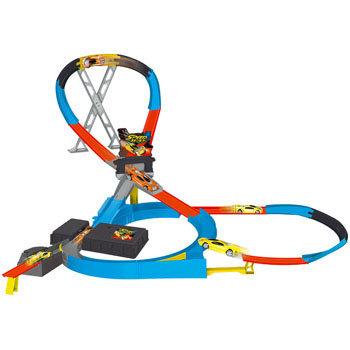 Bērnu rotaļu komplekts MOTORMAX Speedway-G Forceimpact W/2 Cars 78141 cena un informācija | Mašīnas, vilcieni, trases, lidmašīnas | 220.lv