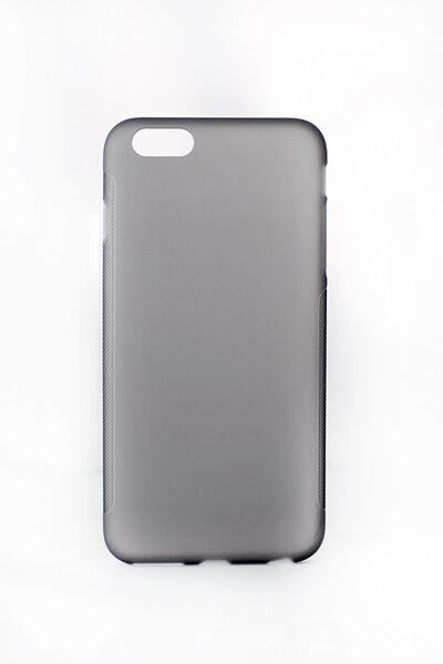 Aizsargvāciņš paredzēts iPhone 6 Plus, melns, matēts. cena un informācija | Maciņi, somiņas | 220.lv