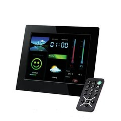 Intenso Digital Photo Frame 8 '' WeatherStar - Weather Station