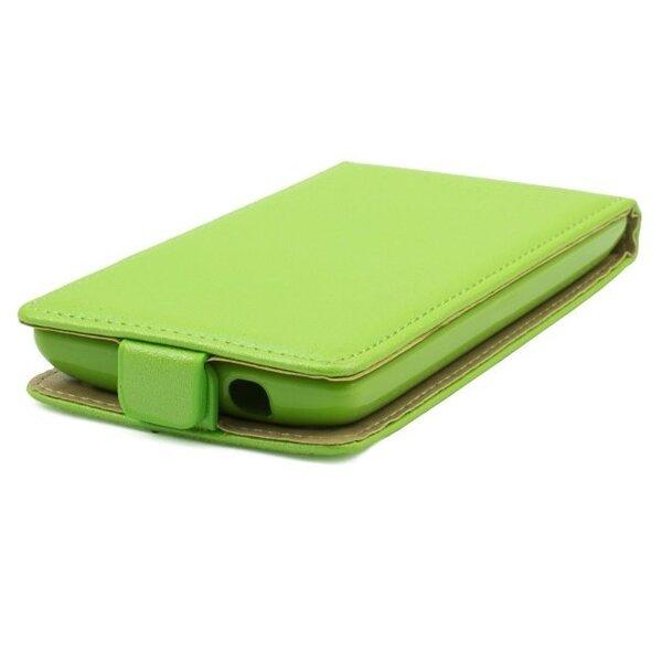Telone Shine Pocket Slim Flip Case Samsung i9500 Galaxy S4 вертикальный Чехол-книжка Зеленый  цена и информация | Maciņi, somiņas | 220.lv