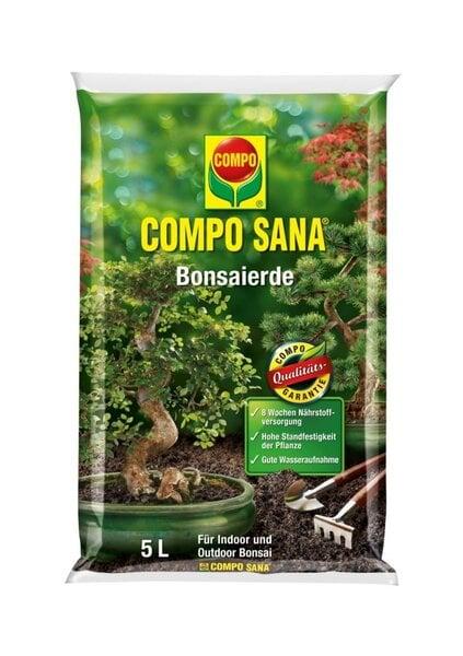 COMPO SANA Substrāts pundurkociņu audzēšanai, 5L cena un informācija | Augsnes un substrati | 220.lv