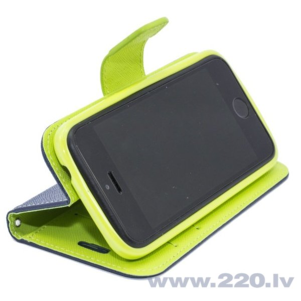 Чехол-книжка Telone Fancy Diary Bookstand для телефона Apple iPhone 4, 4S, Синий цена и информация | Maciņi, somiņas | 220.lv