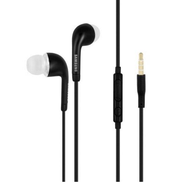 Samsung EO-EG900BB G900 Galaxy S5 Стерео 3.5мм Наушники с микрофоном/пультом Черные (M-S Blister) цена и информация | Austiņas | 220.lv