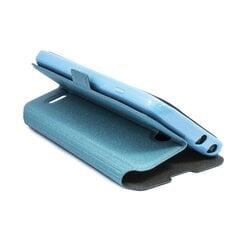 Telone Super plāns sāniski atverams maciņš ar stendu LG D722 Optimus G3 Mini Zils cena un informācija | Maciņi, somiņas | 220.lv