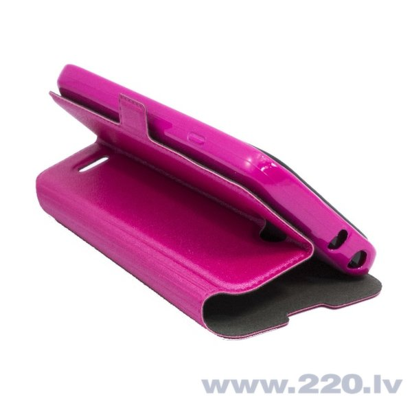 Telone Супер тонкий Чехол-книжка со стендом Sony D2303 Xperia M2 Розовый цена и информация | Maciņi, somiņas | 220.lv
