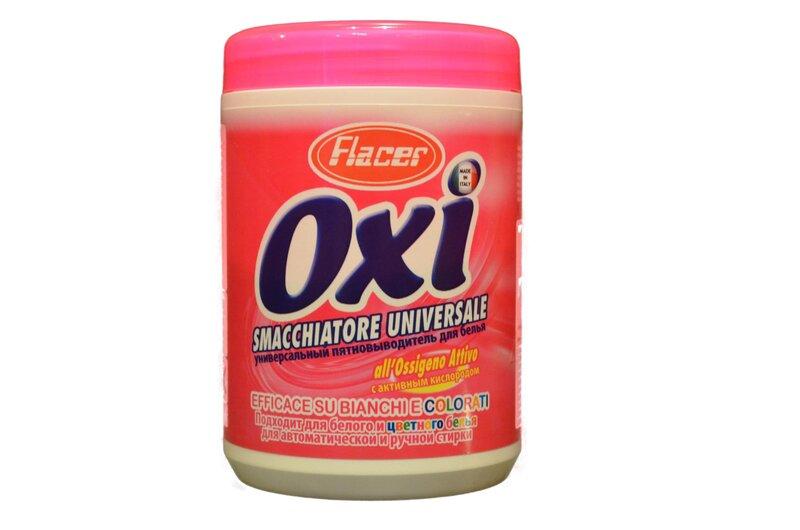 Traipu pulveris Flacer Oxi Smacchiatore Universale, 750 g cena un informācija | Mazgāšanas līdzekļi | 220.lv