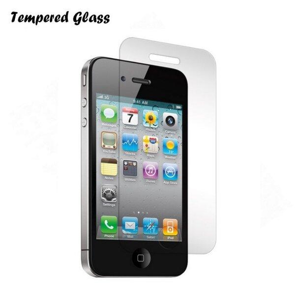 Защитное стекло Tempered Glass для телефона Apple iPhone 5, 5S цена и информация | Ekrāna aizsargplēves | 220.lv