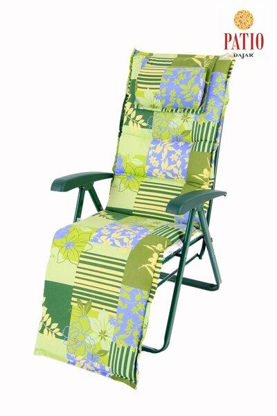 Guļamkrēsls Messina Lux Plus cena un informācija | Dārza mēbeles | 220.lv