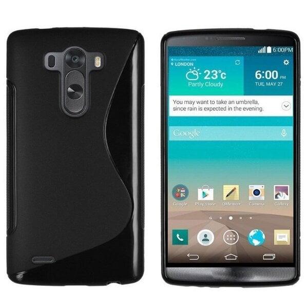 Telone Чехол для мобильного телефона LG G3 S (D722), черный цена и информация | Maciņi, somiņas | 220.lv