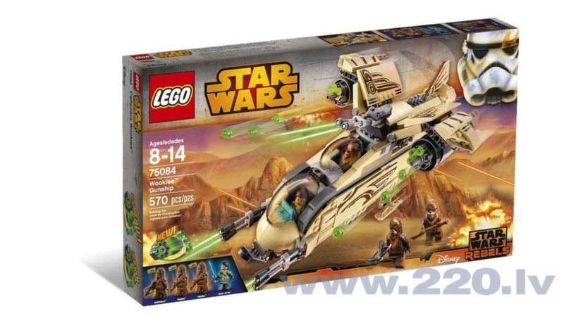 Конструктор Lego Star Wars Wookiee Gunship 75084 цена и информация | LEGO | 220.lv