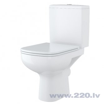 Tualetes pods Cersanit Colour 3/6l bez vāka cena un informācija | Stiprināmi pie grīdas | 220.lv