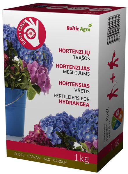 Baltic Agro Hortenziju mēslojums, 1 kg cena un informācija | Mēslojumi | 220.lv