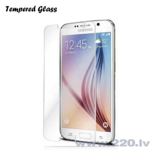 Tempered Glass Extreeme Shock Защитная пленка-стекло Samsung G920 Galaxy S6 (EU Blister) цена и информация | Ekrāna aizsargplēves | 220.lv