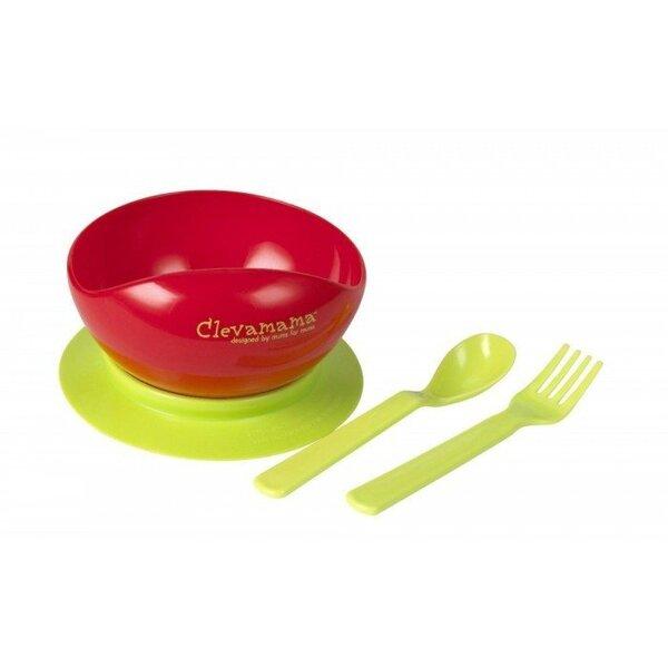 Детский комплект посуды CLEVAMAMA 7025 цена и информация | Bērna barošana | 220.lv