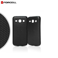 Forcell Back Case Rubber Samsung G313H Galaxy Ace NXT G313F G310HN gumijas telefona apvalks Melns